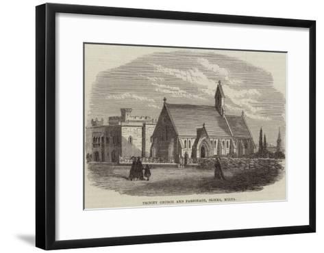 Trinity Church and Parsonage, Sliema, Malta--Framed Art Print