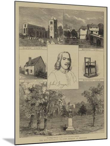 The New Monument to John Bunyan at Bedford--Mounted Giclee Print