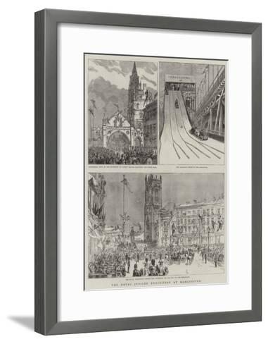 The Royal Jubilee Exhibition at Manchester--Framed Art Print