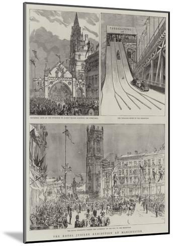 The Royal Jubilee Exhibition at Manchester--Mounted Giclee Print