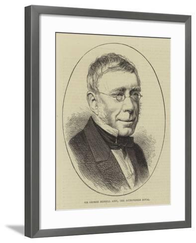 Sir George Biddell Airy, the Astronomer Royal--Framed Art Print