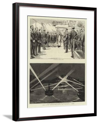 The Naval Manoeuvres, with the Northern Fleet--Framed Art Print