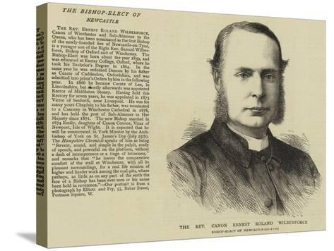 The Reverend Canon Ernest Roland Wilberforce--Stretched Canvas Print