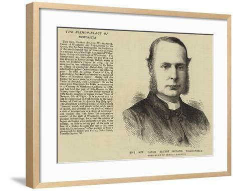 The Reverend Canon Ernest Roland Wilberforce--Framed Art Print