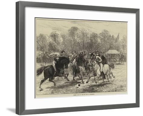 Opening Match of the Polo Club, at Hurlingham--Framed Art Print