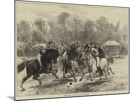 Opening Match of the Polo Club, at Hurlingham--Mounted Giclee Print