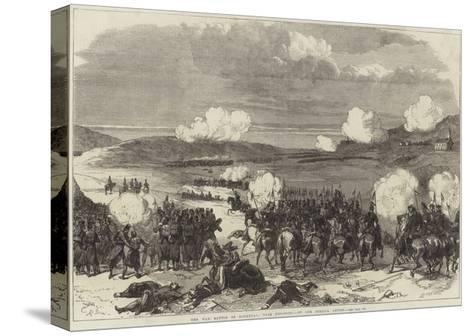 The War, Battle of Blumenau, Near Presburg--Stretched Canvas Print