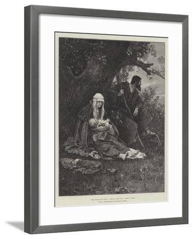 The Flight into Egypt, a Rest by the Way--Framed Art Print