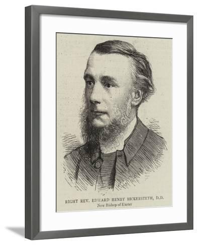 Right Reverend Edward Henry Bickersteth--Framed Art Print