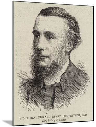 Right Reverend Edward Henry Bickersteth--Mounted Giclee Print