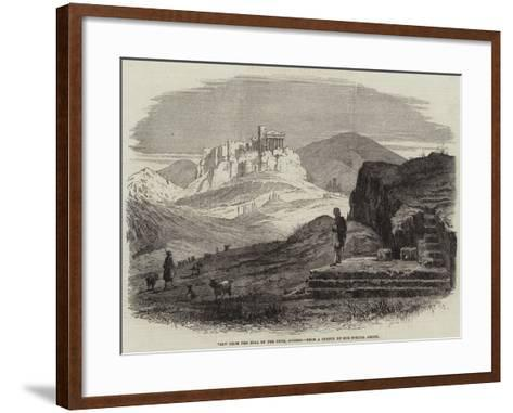 View from the Hill of the Pnyx, Athens--Framed Art Print
