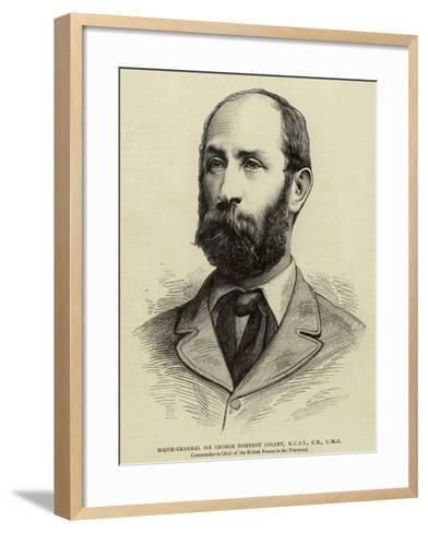 Major General Sir George Pomeroy Colley--Framed Art Print
