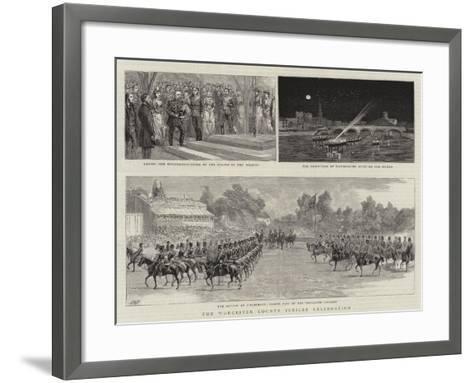 The Worcester County Jubilee Celebration--Framed Art Print