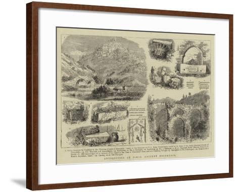 Antiquities at Ismid, Ancient Nicomedia--Framed Art Print