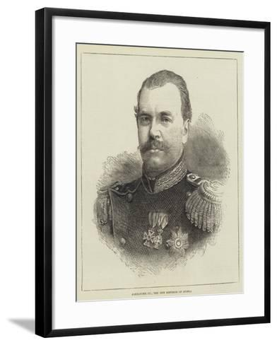 Alexander III, the New Emperor of Russia--Framed Art Print