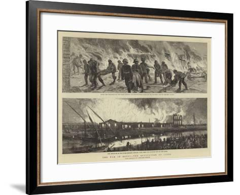 The War in Egypt, the Occupation of Cairo--Framed Art Print