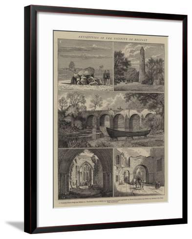 Antiquities in the Vicinity of Belfast--Framed Art Print