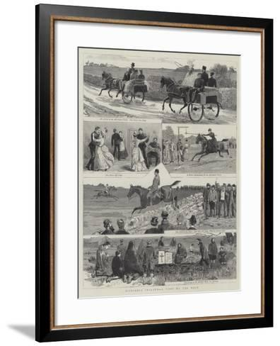 Disturbed Ireland, a Visit to the West--Framed Art Print