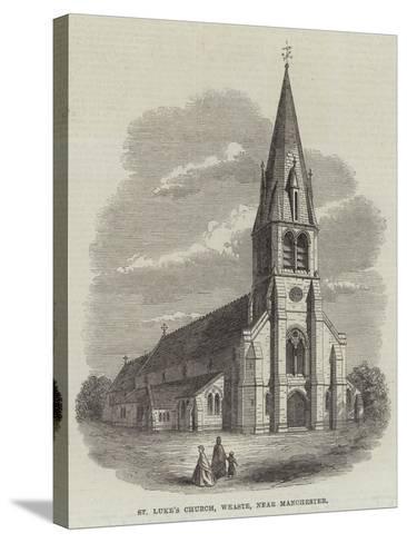 St Luke's Church, Weaste, Near Manchester--Stretched Canvas Print