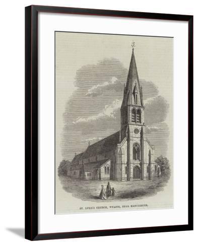 St Luke's Church, Weaste, Near Manchester--Framed Art Print