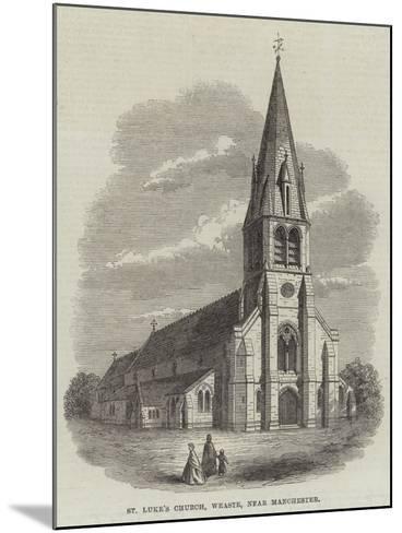 St Luke's Church, Weaste, Near Manchester--Mounted Giclee Print