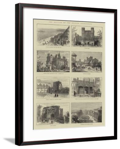 The Meeting of the British Association--Framed Art Print