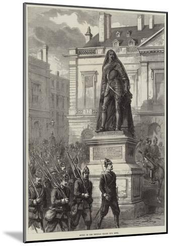 Entry of the Prussian Troops into Metz--Mounted Giclee Print