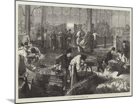 Poultry Market, Halles Centrales, Paris--Mounted Giclee Print