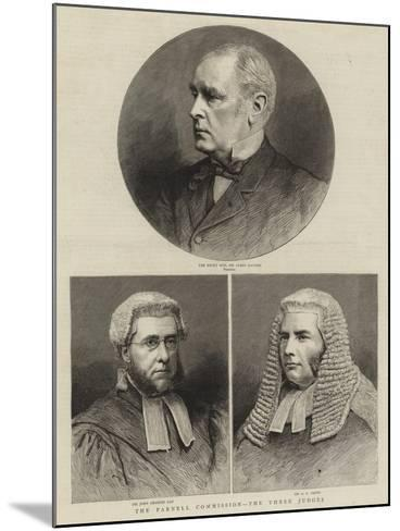 The Parnell Commission, the Three Judges--Mounted Giclee Print