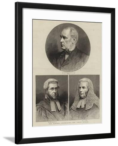 The Parnell Commission, the Three Judges--Framed Art Print