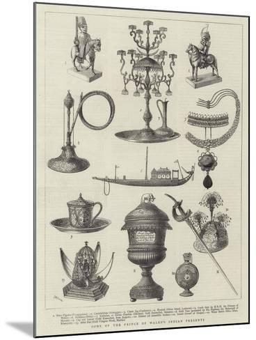 Some of Prince of Wales's Indian Presents--Mounted Giclee Print