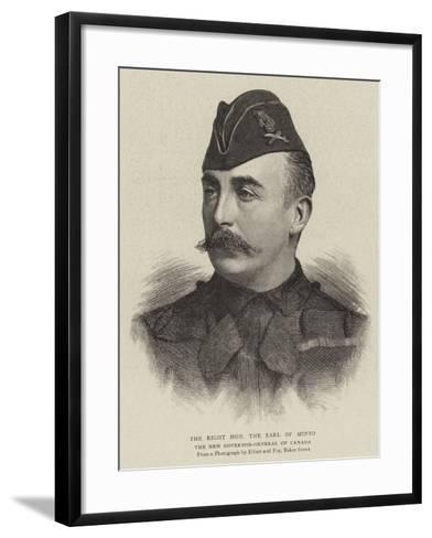 The Right Honourable the Earl of Minto--Framed Art Print