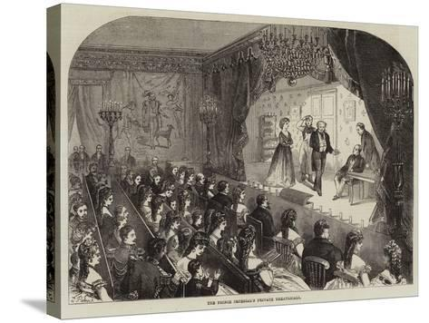 The Prince Imperial's Private Theatricals--Stretched Canvas Print
