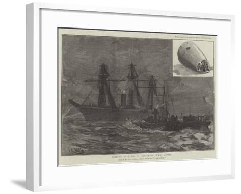 Torpedo Boat No 78 Attacking HMS Active--Framed Art Print