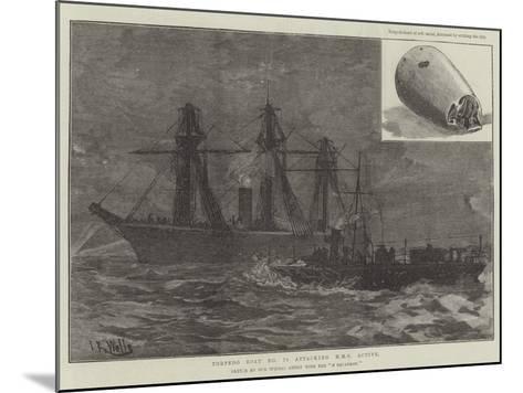 Torpedo Boat No 78 Attacking HMS Active--Mounted Giclee Print