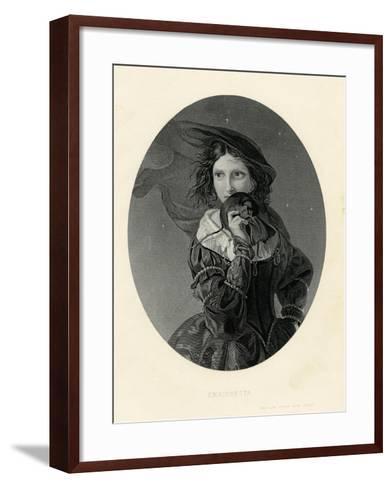 Enrichetta, True Love Never Runs Smooth--Framed Art Print