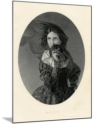 Enrichetta, True Love Never Runs Smooth--Mounted Giclee Print