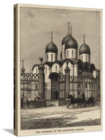 The Cathedral of the Assumption, Moscow--Stretched Canvas Print
