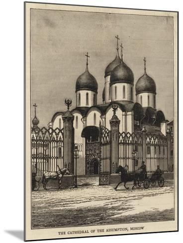 The Cathedral of the Assumption, Moscow--Mounted Giclee Print