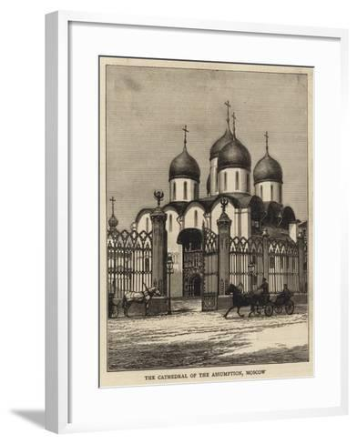 The Cathedral of the Assumption, Moscow--Framed Art Print