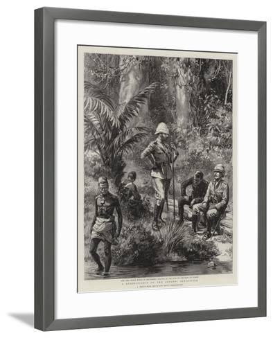 A Reminiscence of the Ashanti Expedition--Framed Art Print
