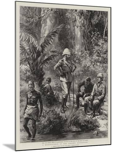 A Reminiscence of the Ashanti Expedition--Mounted Giclee Print