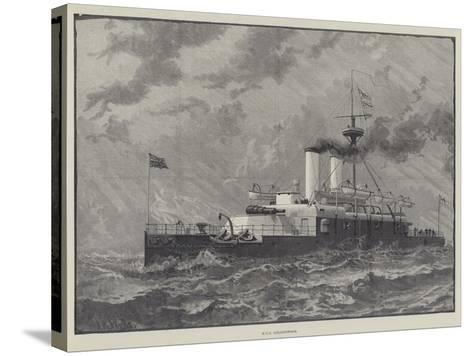 Ships at the Queen's Jubilee Naval Review--Stretched Canvas Print