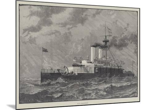 Ships at the Queen's Jubilee Naval Review--Mounted Giclee Print