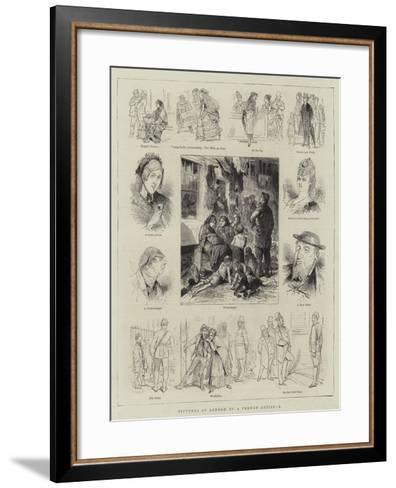 Pictures of London by a French Artist, I--Framed Art Print