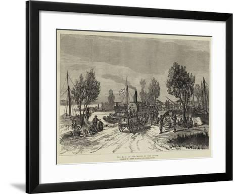 The War, at the Mouth of the Pruth--Framed Art Print