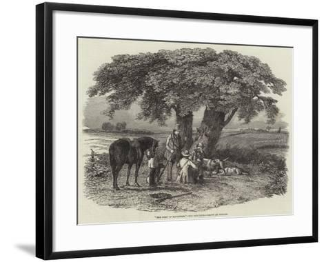 The First of September, the Luncheon--Framed Art Print