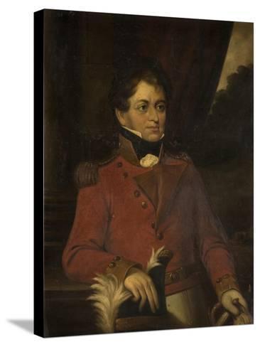 Portrait of Sir Robert Shafto Hawks--Stretched Canvas Print