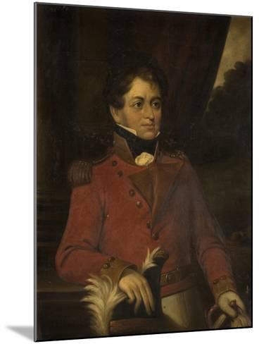 Portrait of Sir Robert Shafto Hawks--Mounted Giclee Print