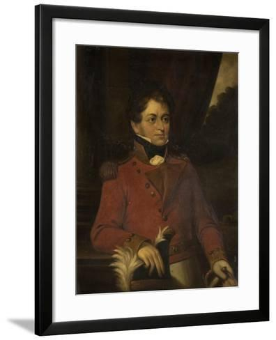 Portrait of Sir Robert Shafto Hawks--Framed Art Print